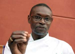 Senegalese chef Pierre Thiam says fonio is a tiny grain which