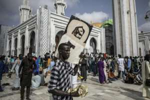 Senegal's Muslim brotherhoods have suspended religious festivities planned for this month.  By JOHN WESSELS (AFP)