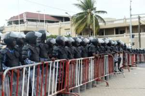 Security forces have closed off all opposition meeting points in the Togolese capital as well as firing tear gas near the opposition headquarters.  By PIUS UTOMI EKPEI (AFP/File)