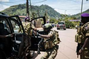 Security has been tightened in many areas.  By ALEXIS HUGUET (AFP/File)