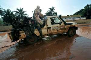 Seleka rebels are one of the militia groups that CAR forest rangers have to deal with.  By SIA KAMBOU (AFP)