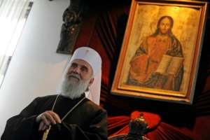 Serbian Orthodox Patriarch Irinej also succumbed to the disease.  By Andrej ISAKOVIC (AFP/File)