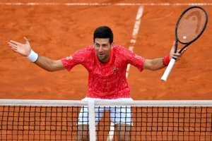 Serbia's Novak Djokovic has tested positive for the new coronavirus.  By Andrej ISAKOVIC (AFP/File)