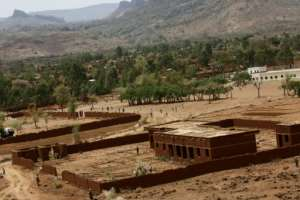 Several people are still feared to be buried after rocks crashed down onto their houses in the mountainous Jebel Marra region of Darfur (pictured June 2017).  By ASHRAF SHAZLY (AFP/File)