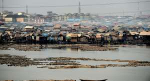 Shanty communities are not unusual in African cities as housing fails to keep pace with the population.  By PIUS UTOMI EKPEI (AFP/File)
