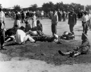 Sharpeville was a turning point in the anti-apartheid struggle.  By STR (AFP/File)