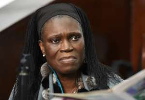 Simone Gbagbo, the former first lady of Ivory Coast, will be released from jail soon, according the country's president.  By ISSOUF SANOGO (AFP/File)