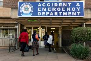Since the early 1990s, the public health system has steadily deteriorated, whereas before, people came from overseas to be treated in Zimbabwe.  By Jekesai NJIKIZANA (AFP)