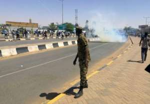 Since the start of the protests, security agents and riot police have cracked down on demonstrators but the army has not intervened. By - (AFP)