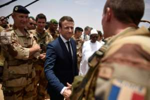 Since becoming president in May, Macron has paid two visits to Mali, home to a 4,000-strong French regional counter-terrorism force.