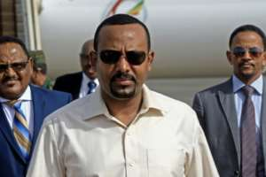 Since coming to power last year, Abiy has loosened controls in Ethiopia, angering some Tigrayans who feel sidelined as other ethnicities jostle for influence.  By ASHRAF SHAZLY (AFP/File)