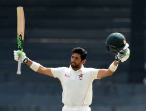 Sikandar Raza (127) top-scored for Zimbabwe with his maiden Test ton in the one-off Test against Sri Lanka