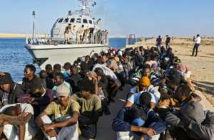 Some EU countries were worried a naval operation may encourage more migrants to try to cross from Libya.  By Mahmud TURKIA (AFP)