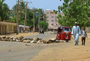 Some life had returned to the streets of Khartoum but there was still widespread disruption.  By - (AFP)