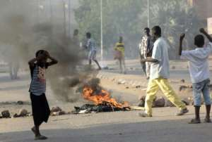Some protest leaders have called for planned talks with Sudan's ruling generals to be postponed following the deaths of the five schoolchildren.  By ASHRAF SHAZLY (AFP)