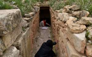 Some scholars believe the Jeddar tombs were built as final resting places for Berber royalty but nobody knows for sure who was laid within.  By RYAD KRAMDI (AFP)
