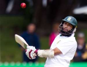 Hashim Amla.  By Marty Melville (AFP/File)