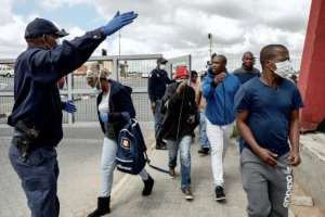 South Africa has imposed a nationwide lockdown to prevent the spread of COVID-19.  By Luca Sola (AFP)
