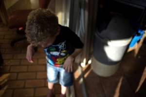 South African cannabis advocate Gerd Bader uses cannabis oil to treat his seven-year-old son suffers from Costello syndrome, which causes delayed physical and mental development