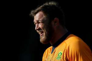 South Africa's number 8 Duane Vermeulen has won 50 caps for his country.  By Adrian DENNIS (AFP)