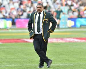 South Africa's head coach Alister Coetzee (pictured) has been in charge since Heyneke Meyer stood down after the 2015 Rugby World Cup