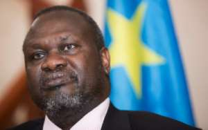 South Sudanese rebel leader Riek Machar has called for