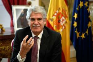 Spain's Foreign Minister Alfonso Dastis told AFP his country was increasingly concerned over potential Islamist fighters gaining access to Europe from the turbulent Sahel region.  By Gabriel BOUYS (AFP)