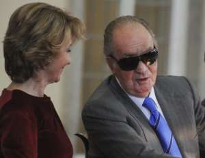 Spanish King Juan Carlos.  By Dominique Faget (AFP/File)