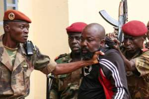 Styling himself as Commander Rambo, Alfred Yekatom led an anti-Balaka force of around 3,000 people including child soldiers, prosecutors say.  By Gael GRILHOT (AFP/File)