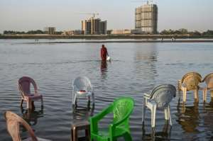 Sudan and Egypt worry the new dam's high wall will trap their essential water supplies when the giant reservoir starts to be filled.  By OZAN KOSE (AFP/File)