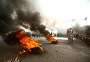 Sudanese protesters had been camped out for weeks outside the army headquarters, calling on the military rulers to cede power to a transitional authority.  By ASHRAF SHAZLY (AFP)