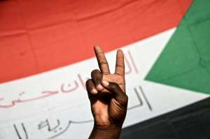 Sudanese protesters want the army to hand power to a civilian administration.  By OZAN KOSE (AFP)