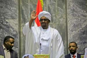 Sudanese President Omar al-Bashir replaced his foreign, oil, interior, agriculture, youth and sports and justice ministers.  By ASHRAF SHAZLY (AFP/File)
