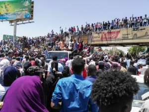 Sudan's authorities say 38 people have died in protest-related violence since December.  By STRINGER (AFP)