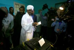 Sudan's ruling party has chosen President Omar al-Bashir to stand as its candidate in 2020, even though his 2015 re-election seen here, was supposed to be his last under the terms of the constitution.  By ASHRAF SHAZLY (AFP/File)