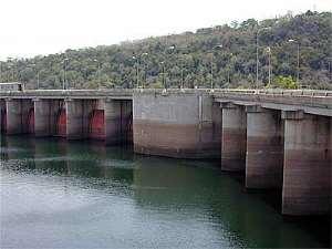 Water level at Akosombo Dam-November 21
