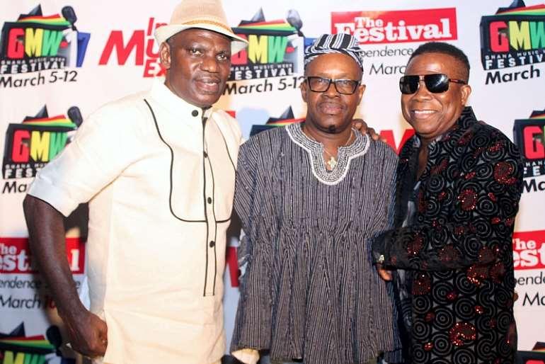 Smart Nkansah, Besa And Freddie Annang