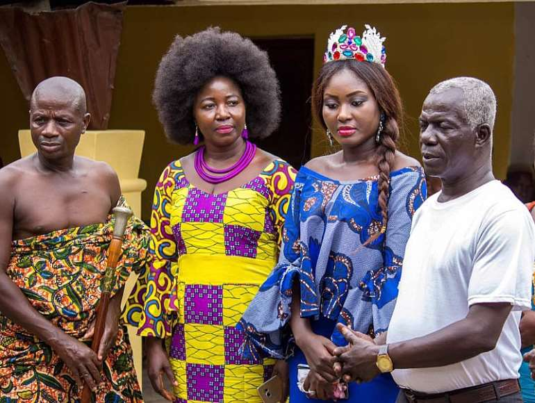 Miss commonwealth ghana princess duncan visits swedru and cape coast image1 1 m4hsunfo Gallery