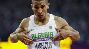 Algerian thrown out of Olympics for not trying