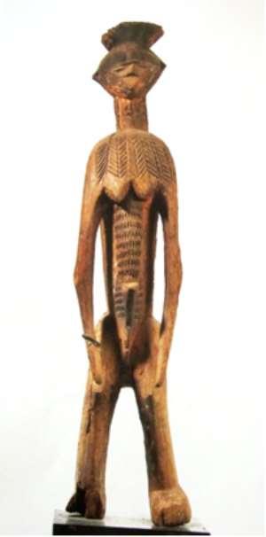 Ancestral Figure, Ibo, Nigeria.