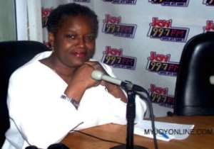 Anna Bossman, outgoing acting Commissioner of CHRAJ