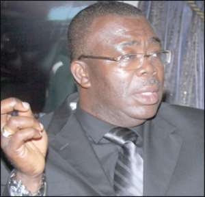 former Information Minister, Stephen Asamoah-Boateng (Asabee)