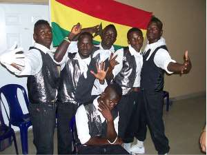 Bugi Bust, one of the qualifiers to the finals to represent Ghana at the Pan African competition