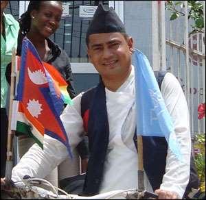 Indian Association Sponsors 'Peace Ambassadors'