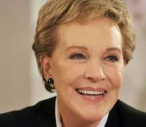 Julie Andrews lost her singing voice after an operation