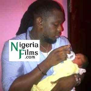 TIMAYA FEEDING HIS  BABY
