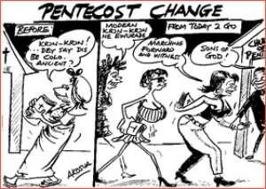 Blows In Pentecost Over Dress Code