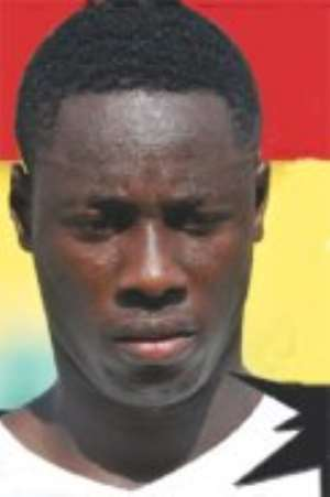 Grim-faced Black Satellites striker, Richmond Boakye Yiadom, faces a must-win battle with the Gambia