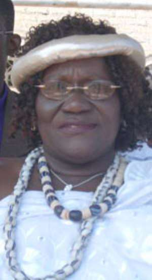 Theresah Amarley Tagoe, former MP for Ablekuma South