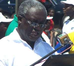 Mr Kofi Asamoah, TUC boss